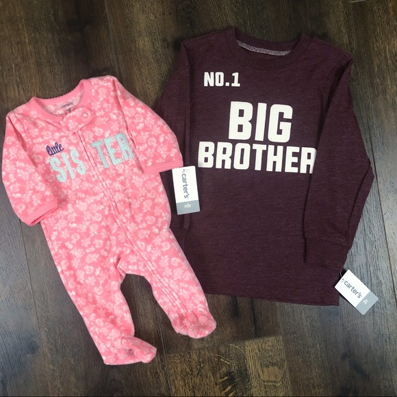e2195e04b Carter's Other | Carters Big Br Little Sister Outfits | Poshmark